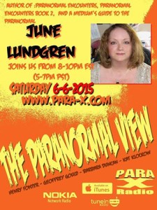 Paranormal view radio